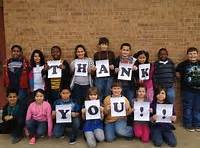 Photo, Kids Saying Thank You