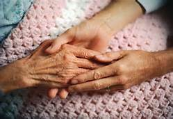 Holding Elderly Hand (Bing)