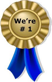 We're # 1